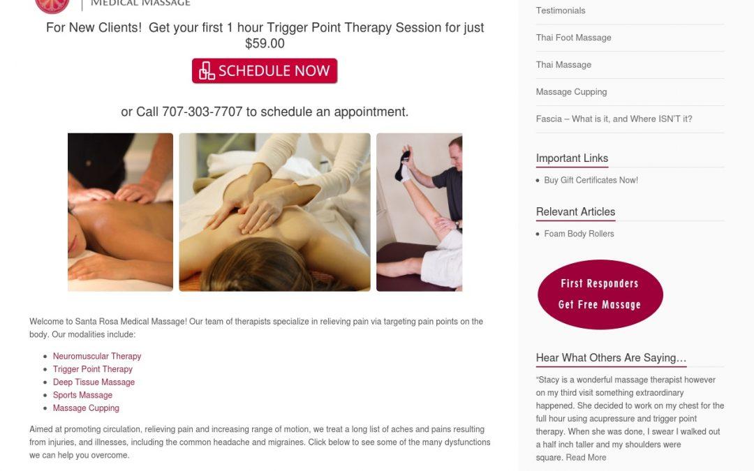 Santa Rosa Medical Massage